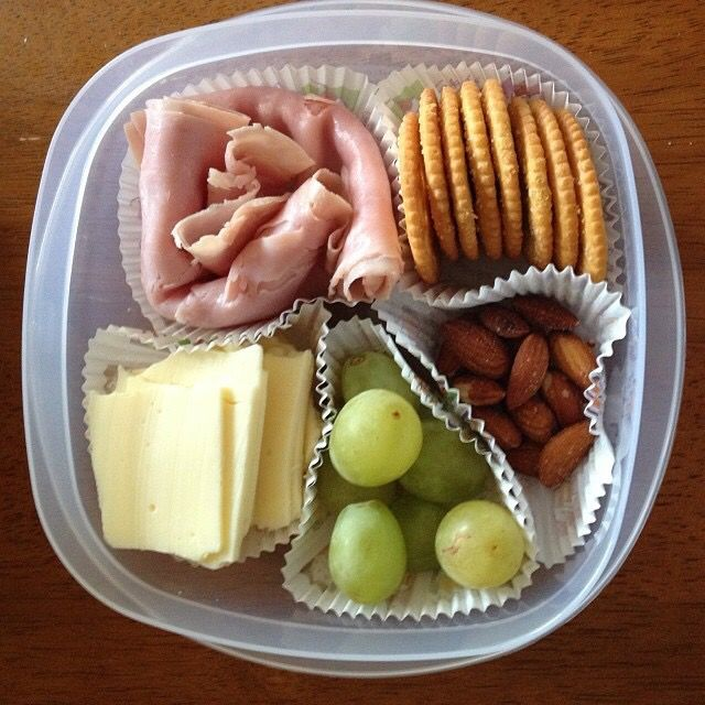DIY lunchables!