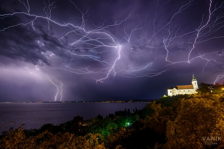 Képek a tegnap esti viharról
