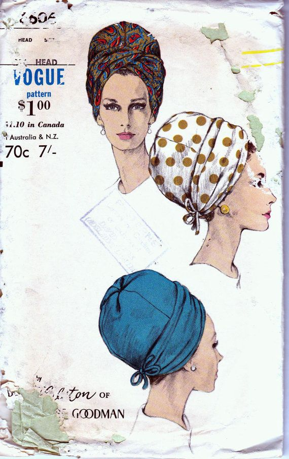 60s Vintage Vogue Sewing Pattern 6606 by allthepreciousthings,