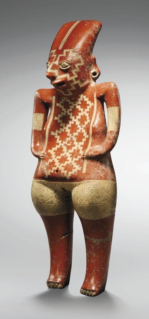 Chupícuaro Figurine  Terracotta  Mexico  7th-2nd century BC