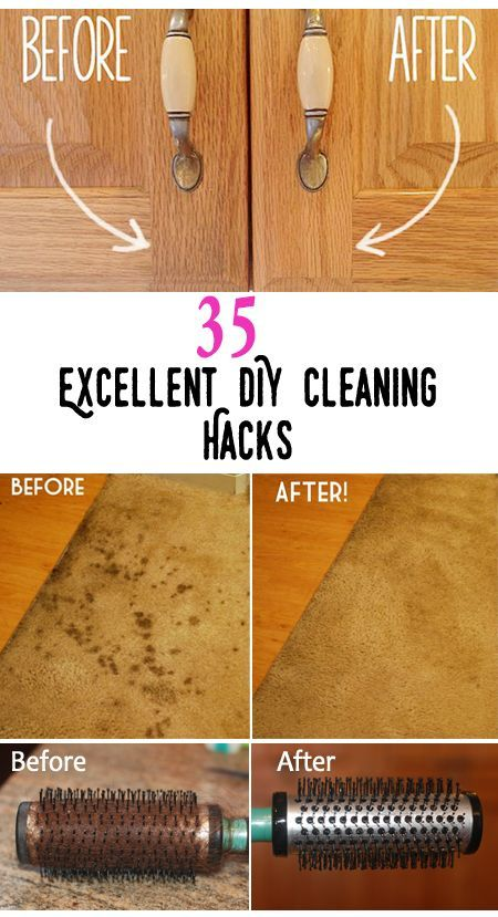 Top 35 Excellent DIY Cleaning Hacks It's cleaning spree, there are always someplaces in your home that are always difficult to clean, or there are thingswhich wont clean what ever you do. No worr…