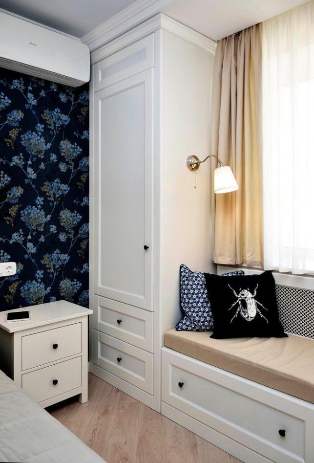 Apartament de 2 camere decorat cu accente placute de albastru - imaginea 13
