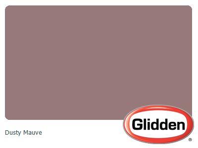 Dusty Mauve Paint Color Glidden Colors Home Painting