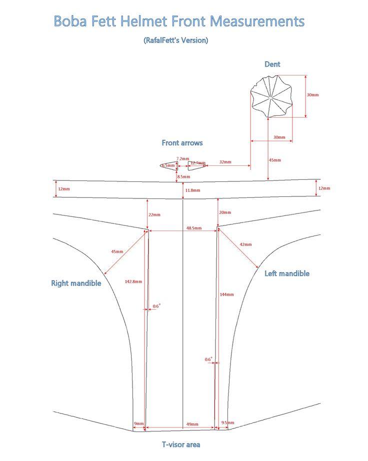 Boba Fett Helmet Front Measurements.jpg;  1600 x 2000 (@43%)