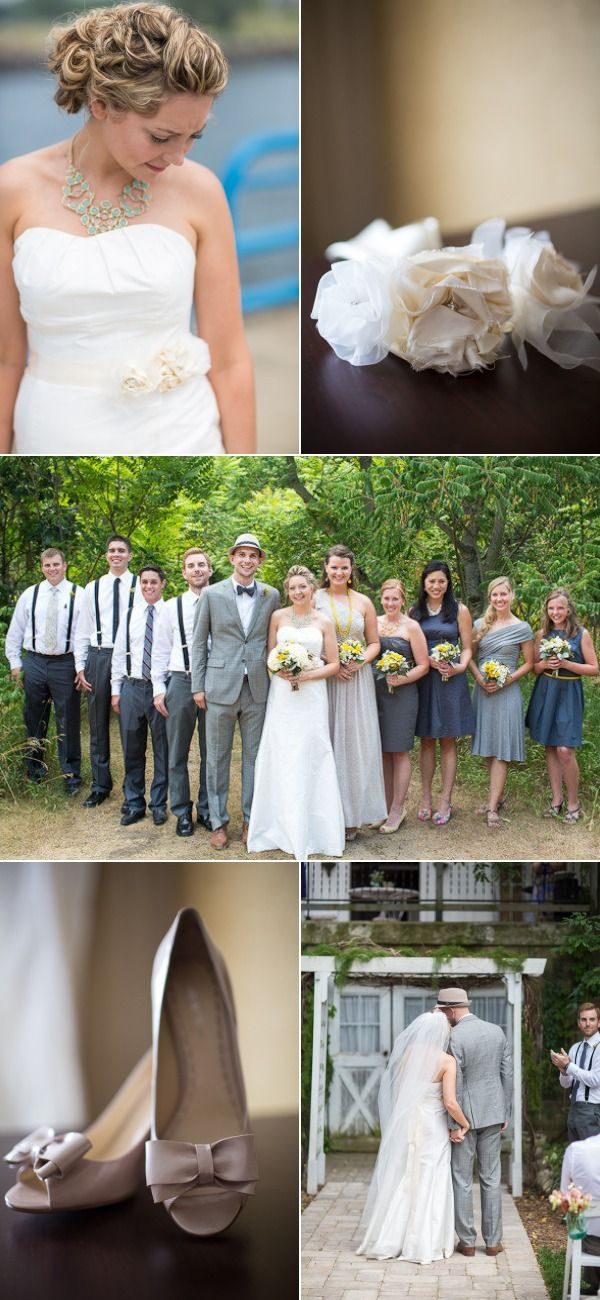 Michigan Wedding at The Blue Dress Barn from Emilia Jane Photography | The Wedding Story