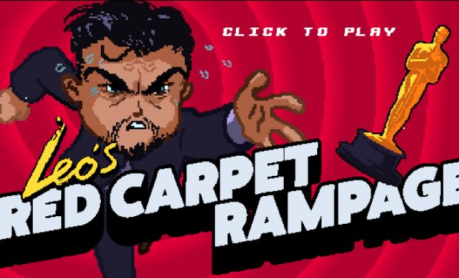 Aktuálnym hitom internetu je nová arkádová hra Leo's Red Carpet Rampage
