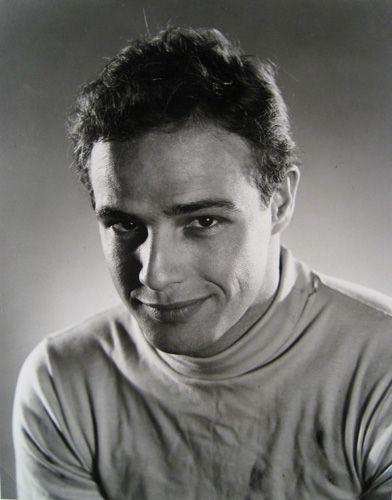 A young Marlon Brando #Brando #young