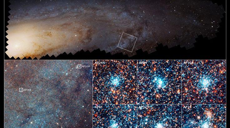 El Telescopio Hubble revela cómo se forman las estrellas en la Galaxia de Andrómeda | El Universo Hoy