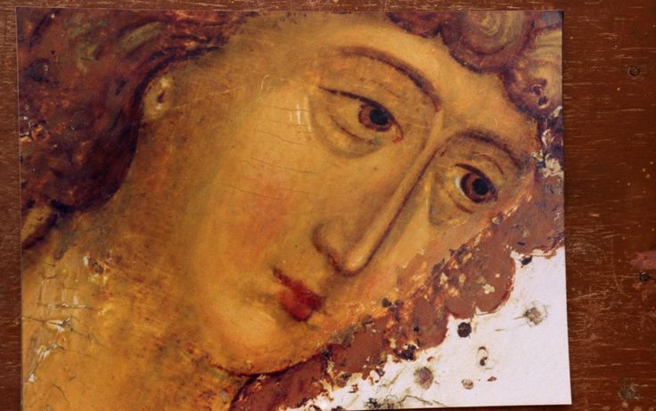 Andrey Rublev, The Holy Trinity more free materials on our site: http://www.versta-k.ru/en/articles/ The best books about the technology of the icon-painting: http://www.versta-k.ru/en/catalog/66/ the materias for the icon-painting: http://www.versta-k.ru/en/catalog/14/ http://www.versta-k.ru/en/catalog/95/ The delivery to any point of the world
