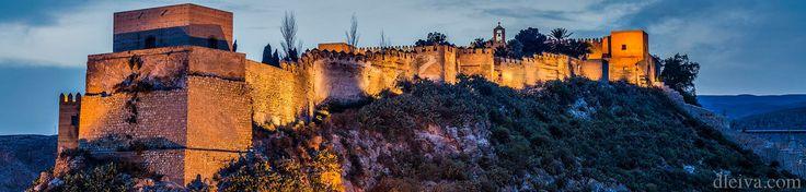 """Alcazaba de Almería desde las terrazas de la Plaza Vieja - <a href=""""http://www.flickr.com/photos/dleiva/sets/72157609856230428/"""">Mi colección de Almería/ My almeria's collection</a>"""