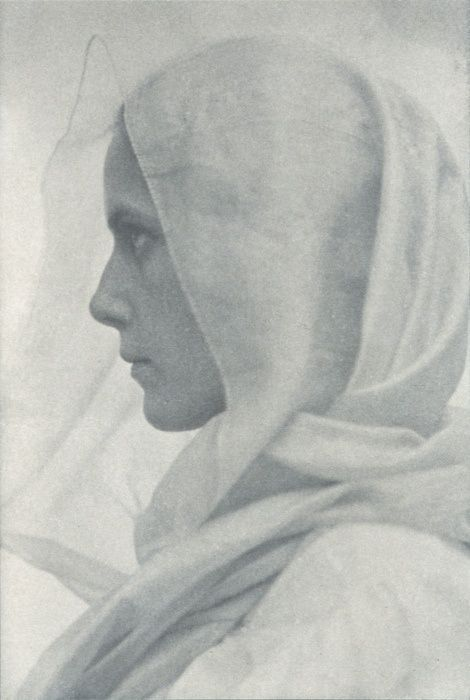 Woman Draped in Veil, 1900, Amelia Van Buren