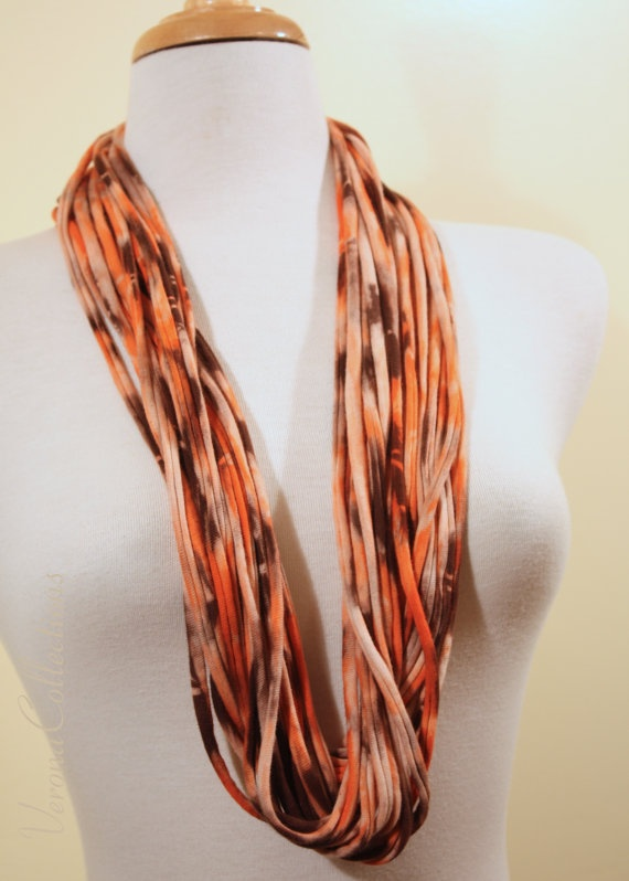 100% Cotton Cord Jersey Scarf  TieDye by VeronaCollections on Etsy, $36.00