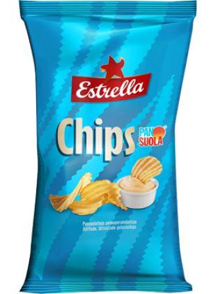 Pan Suola Chips, Perunalastut