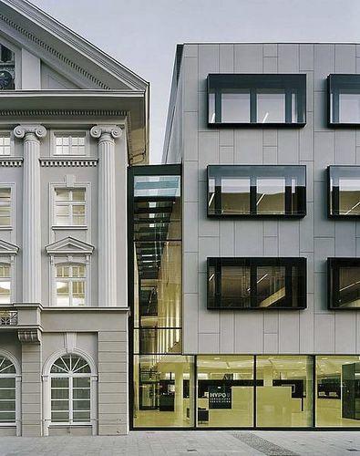 Bardage de façade en béton fibré FIBRE C Rieder Smart Elements GmbH