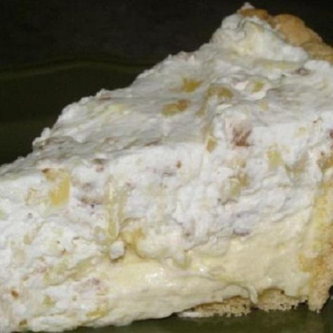 """Furr's Cafeteria """"Pineapple Millionaire Pie"""" (with adjustments for Diabetics to be able to eat some)"""