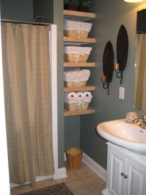 Quirky bathroom in new house just moved to nc and the for Quirky bathroom ideas