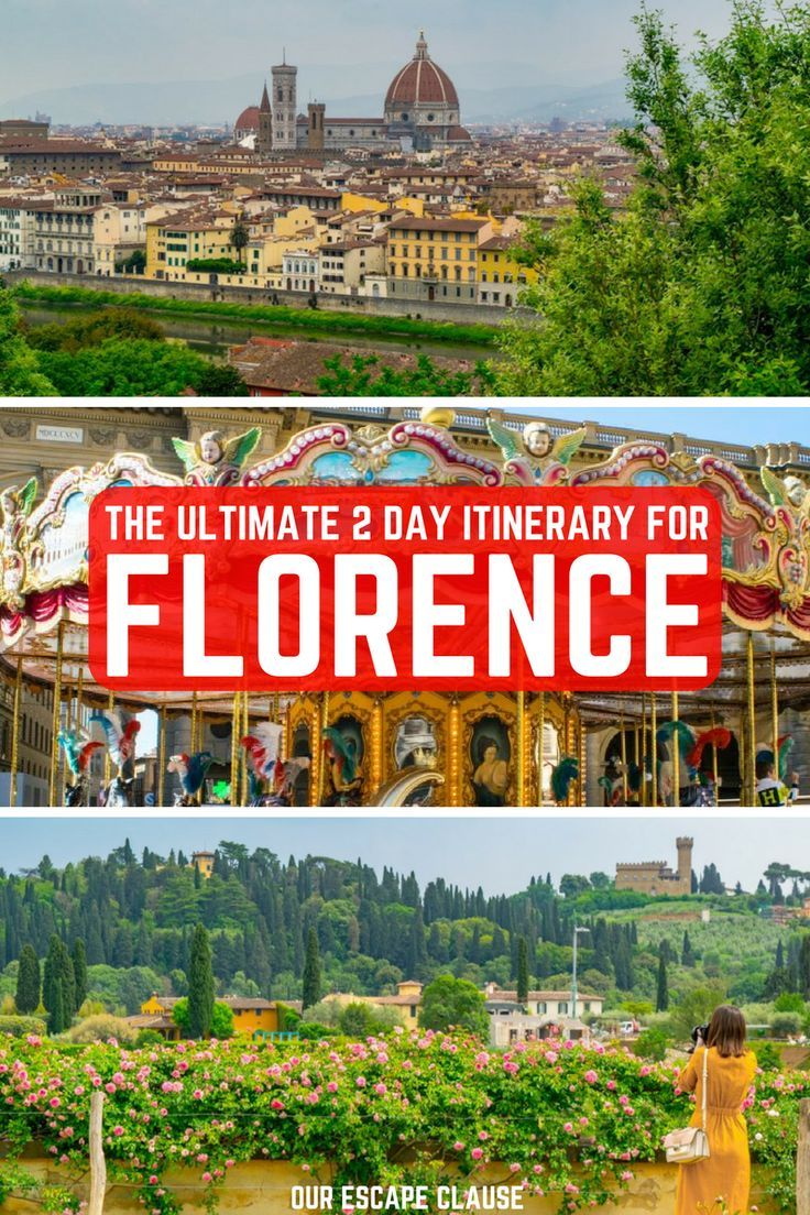 The Ultimate 2 Days In Florence Itinerary Our Escape Clause Tuscany Italy Travel Italy Travel Italy Travel Tips