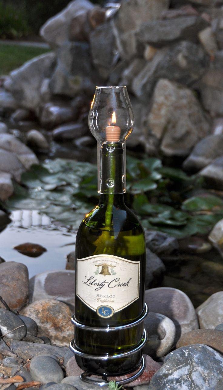 9 Best Images About Wine Bottle Ideas On Pinterest Glass Bottles Bottle And Bottle Candles