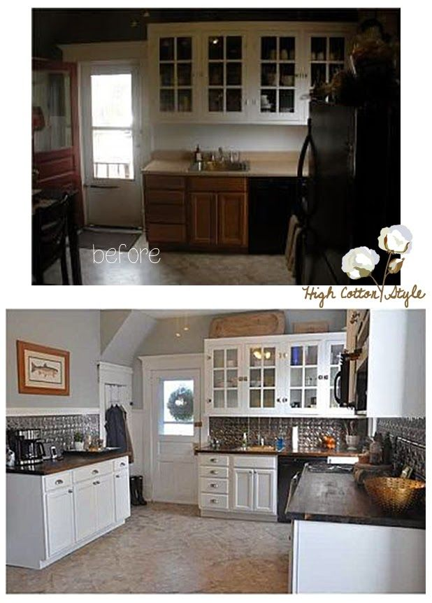 Lowes Project Source Cabinets Painted White Kitchen