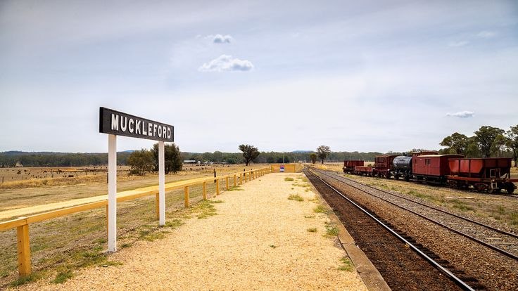 https://flic.kr/p/CDqRV7 | Muckleford | Muckleford train station, Victoria, Australia. Used in the film The Dressmaker.