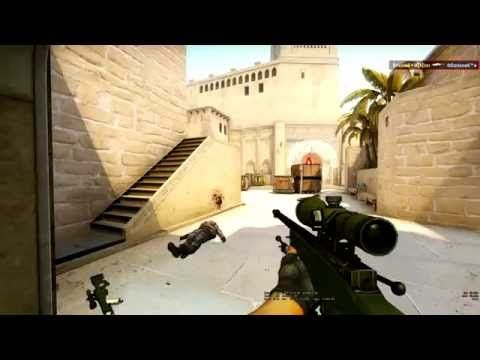 CSGO Gameplay AWP And Deagle