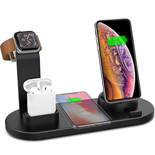 Yestan Wireless Charger, 3 in 1 Wireless Charging Dock Co