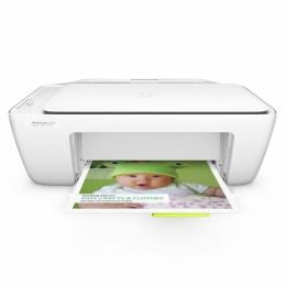 HP Deskjet 2130 All-in-One – Impresora multifunción – color – chorro de tinta – 216 × 297 mm (original) – A4 (material) – hasta 5 ppm (copiando) – hasta 7.5 ppm (impresión) – 60 hojas – USB 2.