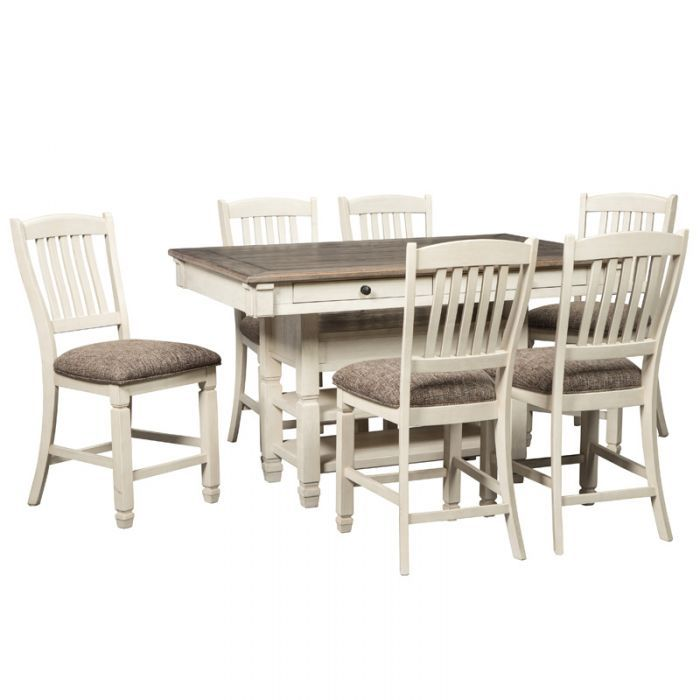 Shop For The Ashley Signature Design Bolanburg 7 Piece Table And Chair Set At Johnny Janosik
