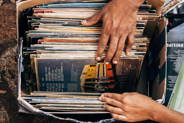 Discos da feira dos discos...
