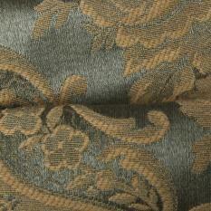 Ткань портьерная травянисто-зеленая растительный от ProtosTextile 1-1806