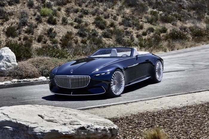 Study Of An Ultra Stylish Luxury Class Cabriolet A Revelation Of Luxury Vision Mercedes Maybach 6 Cabriolet Daimler Glo In 2021 Mercedes Maybach Maybach Cabriolets