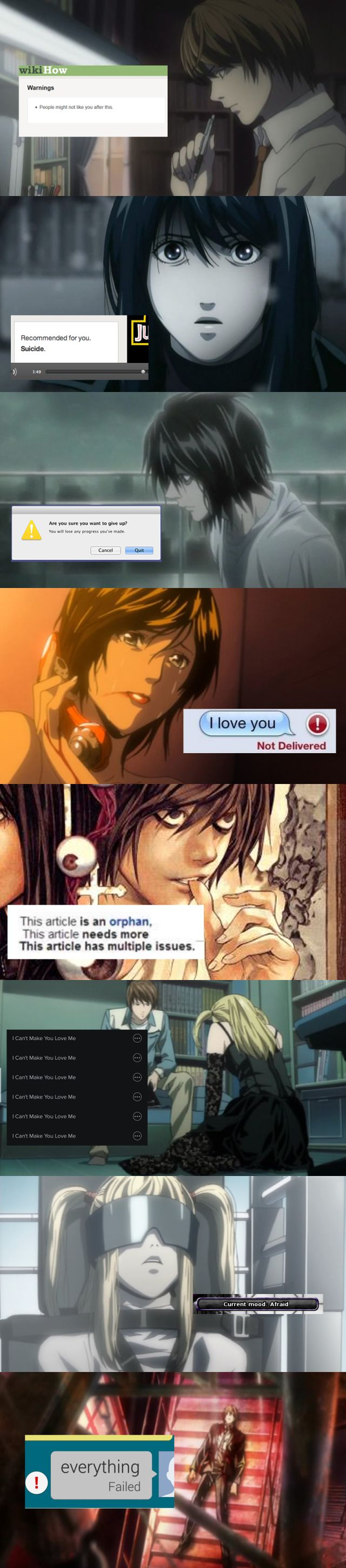 Tags: Death Note Just perfect. I like every piece of the set.
