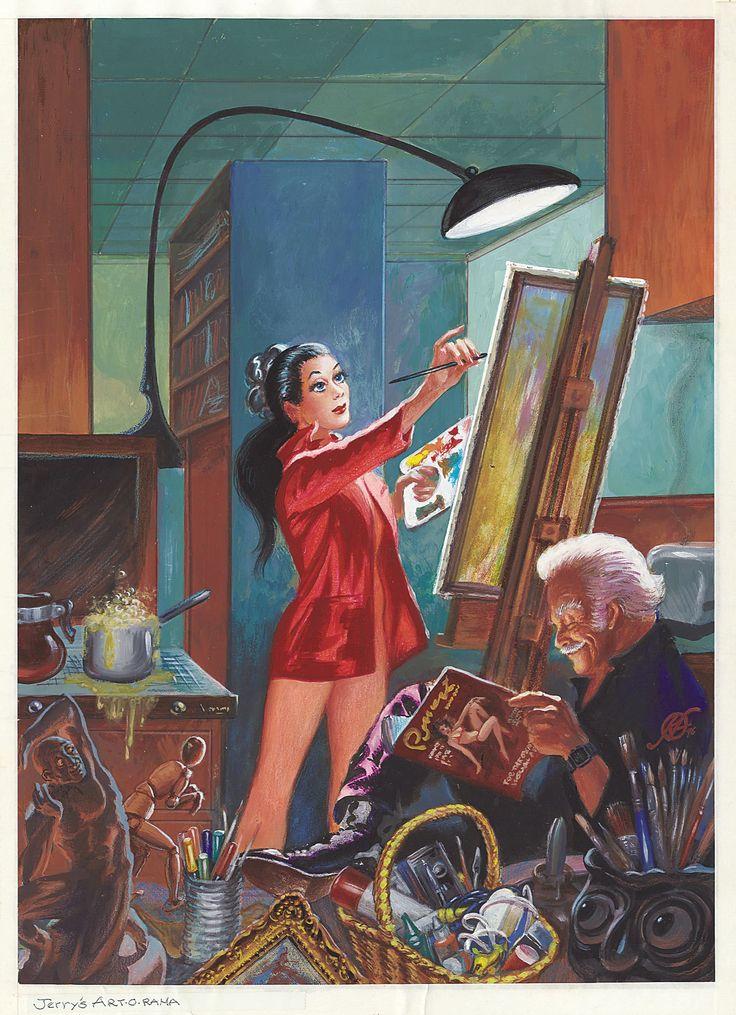frank kelly freas - the jerry's, artarama catalog cover