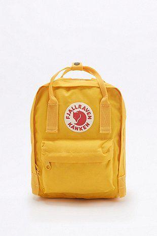 Fjallraven Kanken Classic Mini Warm Yellow Backpack