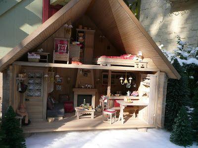 Les Carnets de l'Atelier Blondie: maison de poupée/Dolls house