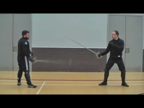Rapier Plate 18 Sword Fencing lesson part 2   「Academy of Historical Fencing」