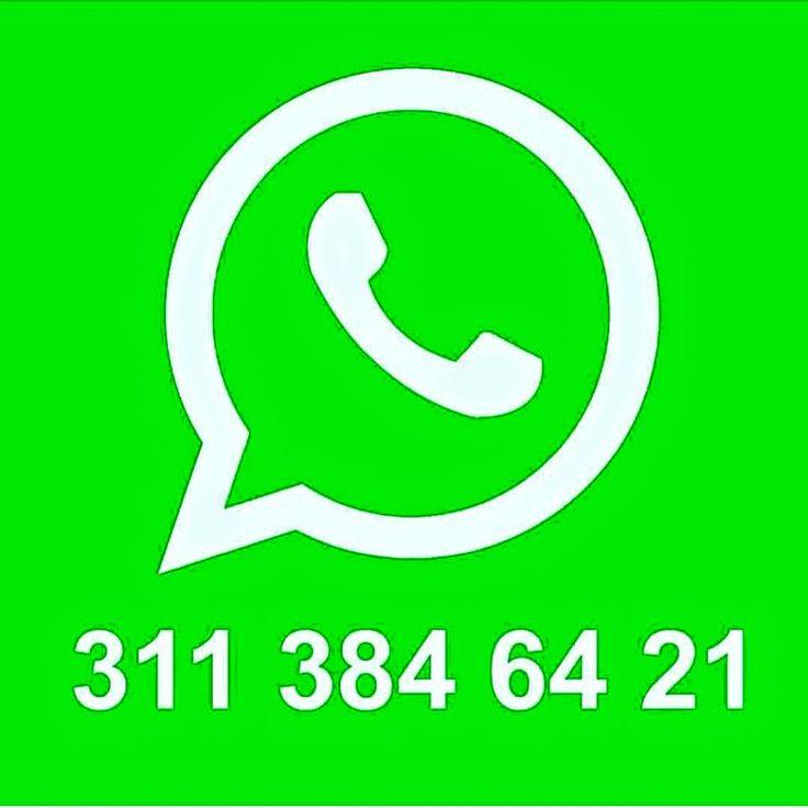 Escríbenos a nuestra línea única de Whatsapp: 3113846421 o visita nuestra tienda virtual http://www.tiendasbranchos.com/sitio/