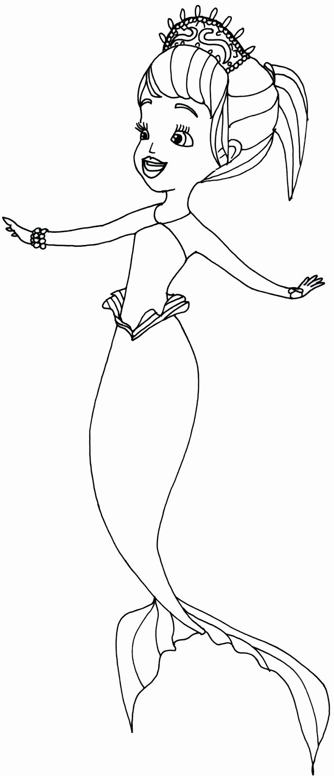 Sophia The First Coloring Book Lovely Sofia Coloring Pages Bestofcoloring In 2020 Mermaid Coloring Pages Princess Coloring Pages Coloring Books