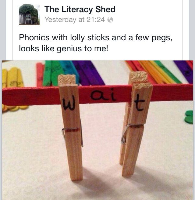 Great phonics idea
