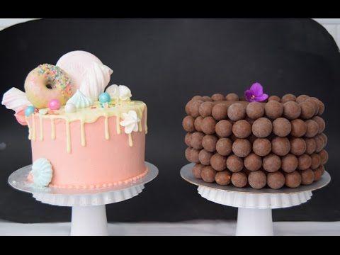 El ganache perfecto para forrar pasteles (blanco y obscuro) - YouTube