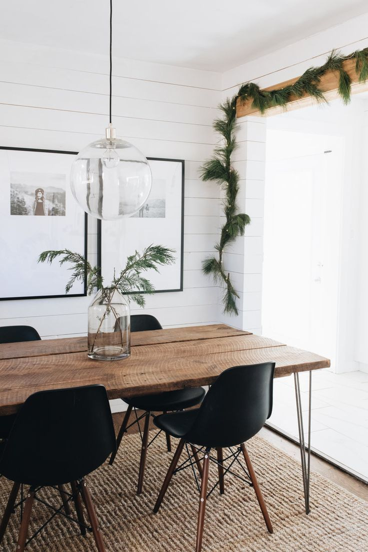 Merry Minimal In 2020 Boho Dining Room Modern Farmhouse Dining