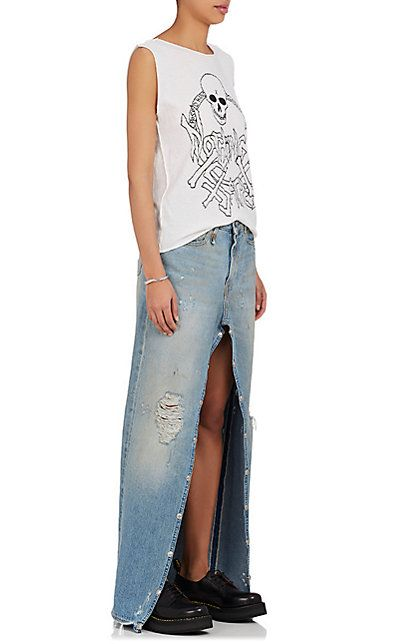 R13 Snap Slouch Jeans/Skirt - Jeans - 505004343