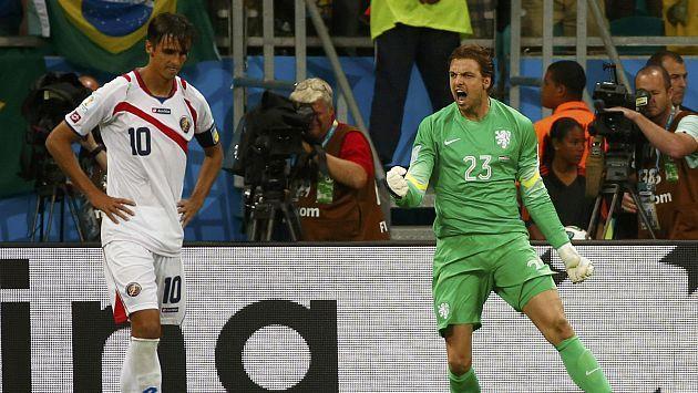 FIFA evalúa sancionar a Tim Krul por 'juego sucio' ante Costa Rica #Peru21