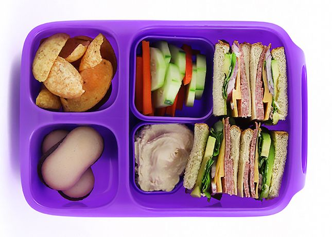 The Goodbyn Hero is a bento box that's perfect for school and work.  Check out this review.