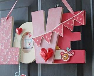 love: Valentines Ideas, The Doors, Holidays Diycraft, Diy Crafts, Valentines Doors, Love Signs, Front Doors, Doors Hanging, Doors Signs
