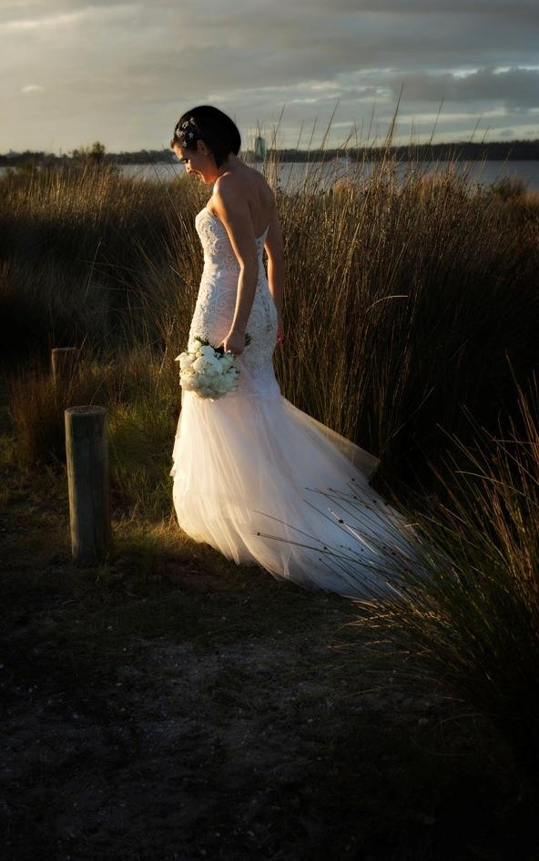 Beautiful gown, beautiful bride www.lynwhitfieldking.com.au