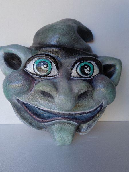 ARTISTA GIANNA FERLAZZO : MASCHERE IN TERRACOTTA  di G ARTE su DaWanda.com