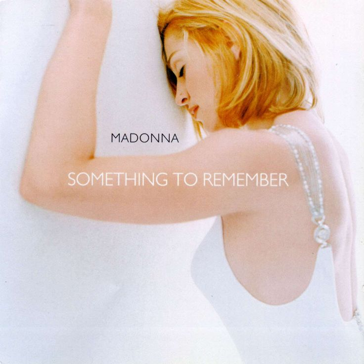 "Madonna: Album: Something To Remember: 1. 	""I Want You""  2. 	""I'll Remember""  3. 	""Take a Bow""  4. 	""You'll See""  5. 	""Crazy for You""  6. 	""This Used to Be My Playground""  7. 	""Live to Tell""  8. 	""Love Don't Live Here Anymore""  9. 	""Something to Remember""  10. 	""Forbidden Love""  11. 	""One More Chance""  12. 	""Rain""  13. 	""Oh Father"" 14. 	""I Want You"" (Orchestral)"