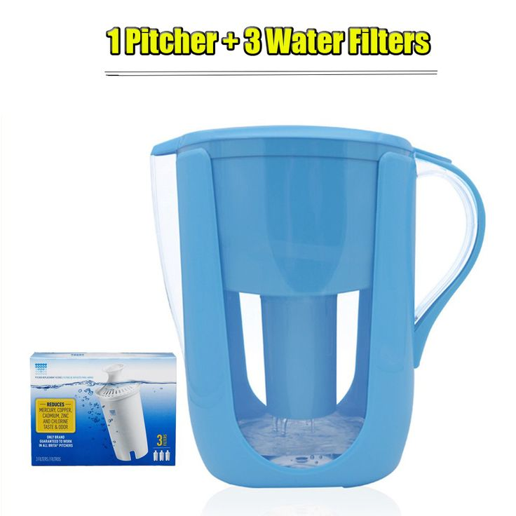 Aliexpress.com : Buy Household Water Pitcher Kitchen Water Filter Kettle 1 Pitcher+3 Cartridge Water Filters Activated Carbon for Brita Filter 10Cups from Reliable water filter suppliers on Namtso