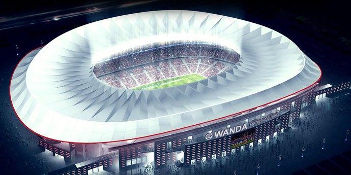 Novo estádio do Atlético de Madrid levará nome de empresa chinesa